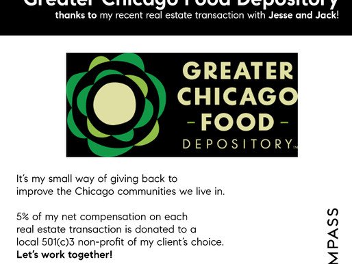Thank you Jack and Jesse for Choosing The Greater Chicago Food Depository!