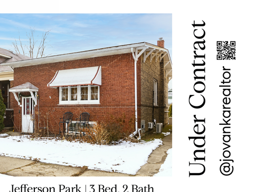 Under Contract with Multiple Offers in Jefferson Park Chicago