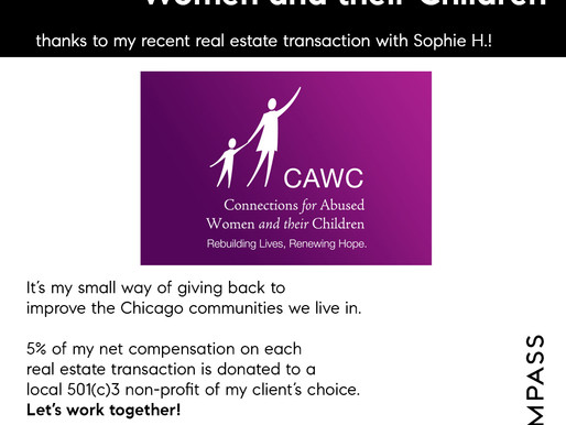 Chicago Realtor Donates on Behalf of Her Clients