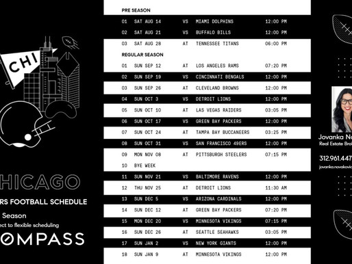 Chicago Bears 2021 Football Schedule