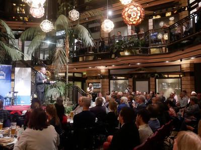 David Frum_Cafe Luitpold_Munich Dialogue