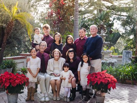 Family Reunion Photography in Pasadina