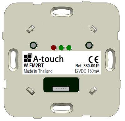 Commande Sono FM RDS Bluetooth 2 zones