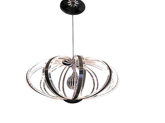 CURLY - SUSPENSION LED BLANCHE 53W - 3000K