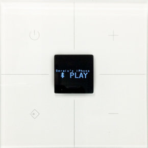 Clavier tactile en verre blanc - Son