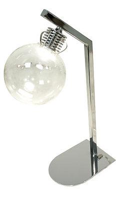 BOWL - LAMPE DE BUREAU LED CHROME & VERRE 4W - 3000K