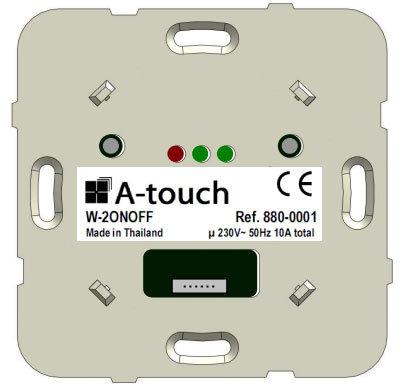 Commande interrupteur Double 10A
