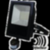Projecteur LED Spin 25W avec détecteur