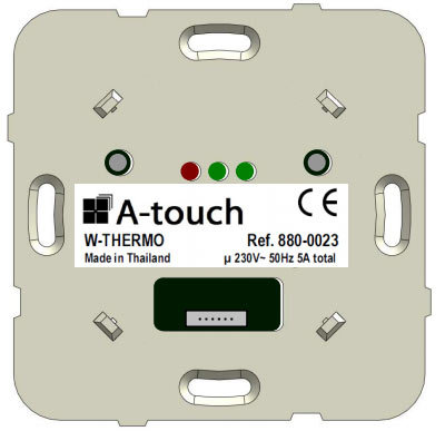 Commande murale Thermostat programmable