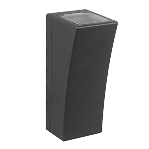 LUZ -APPLIQUE MURALE LED EXTERIEURE - 3W 2800K - GRIS - NON DIMMABLE - IP65/IK08