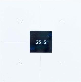 Clavier tactile plastique blanc Thermostat