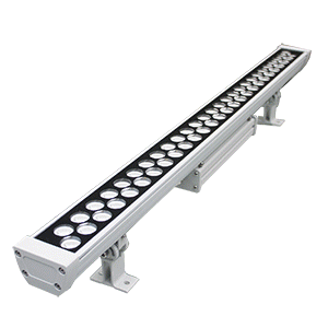 MONSANTO-WALL WASHER LED-55W 2800K-GRIS 1010x135x75mm-NON DIMMABLE-IP65/IK08