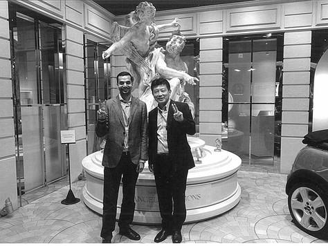 At Sony Headquarters