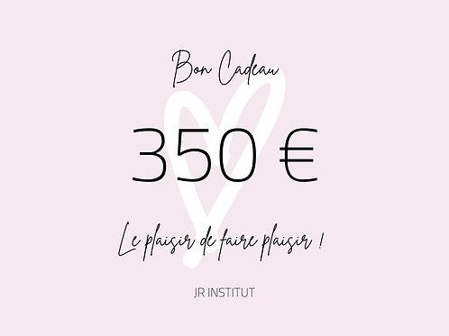 BON CADEAU 350€