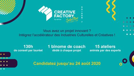 📣 Lancement de la Creative Factory Selection !