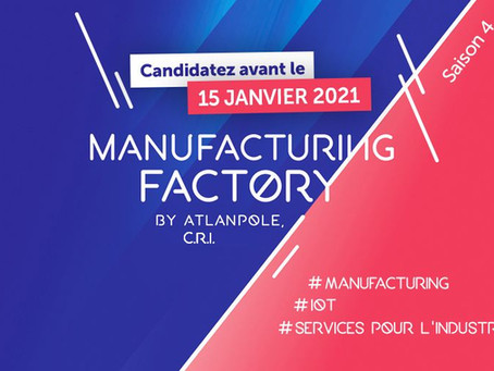 📣 Lancement de la Manufacturing Factory 2021!