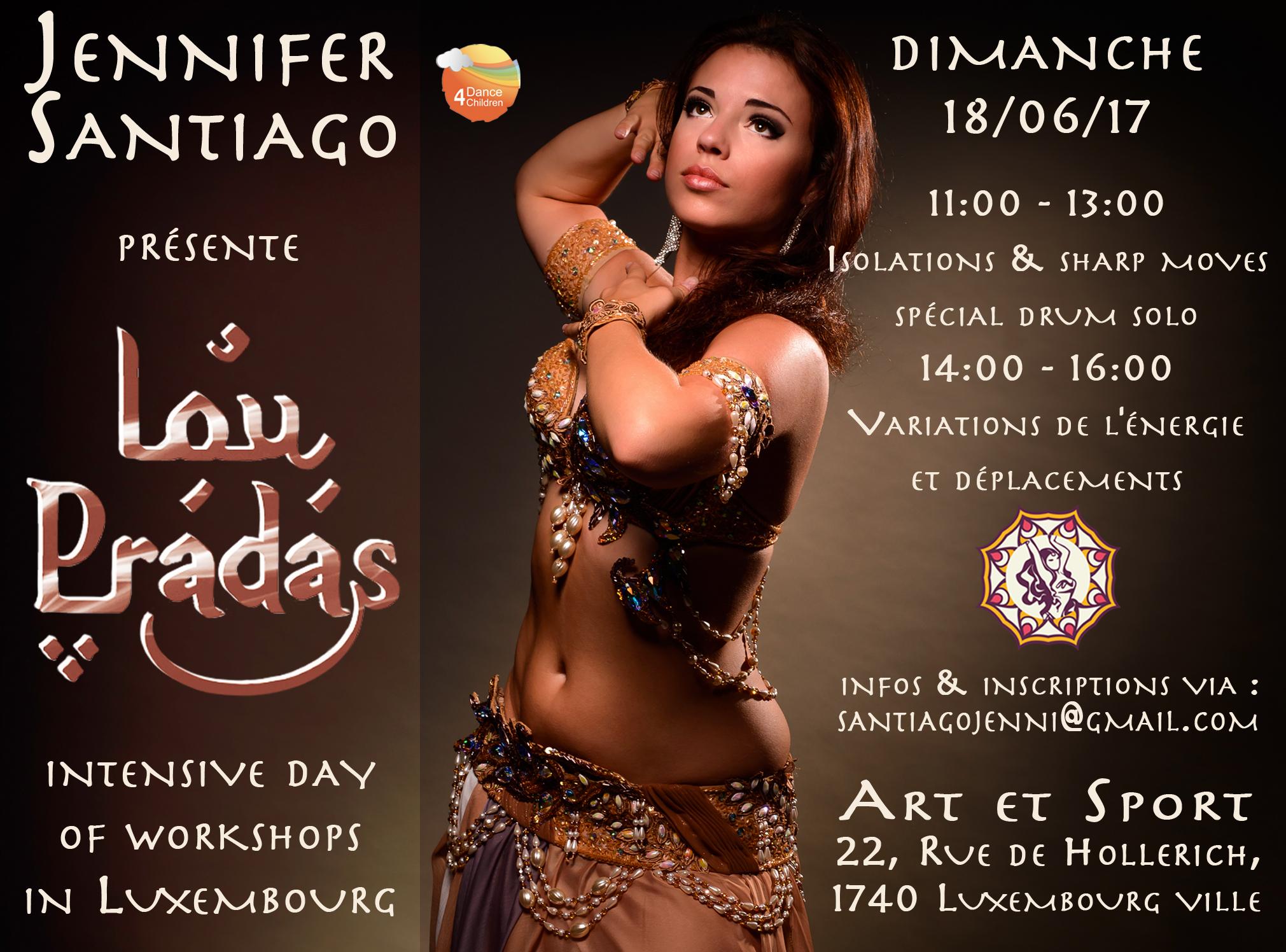 Lou Pradas stage de danse orientale