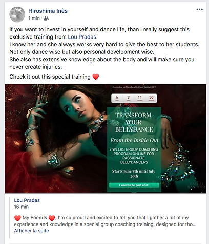 bellydance Oriental Dance classes online and in Belgium