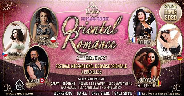 Oriental Romance Bellydance Festival danse orientale bruxelles