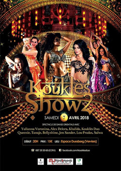 Koukles show 2 in Verviers