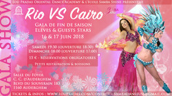 Samba et Danse Orientale Spectacle