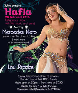 Hafla with Mercedes Nieto, Brussels
