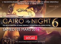 Cairo By Night 6, Paris