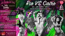 Rio VS Cairo Samba Oriental