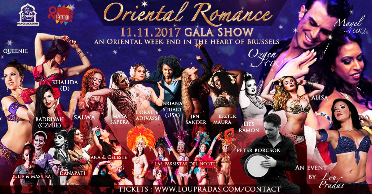 Oriental Romance 2017 by Lou Pradas