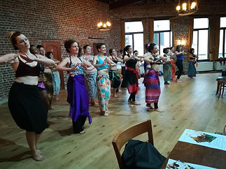 stage de danse orientale et tribal fusion bruxelles