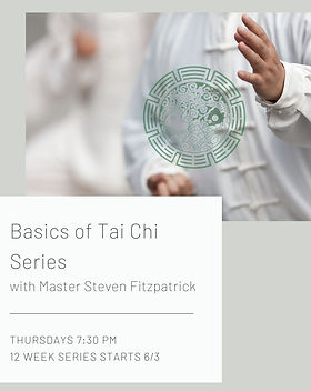 Basics of Tai Chi with Master Steven Fit