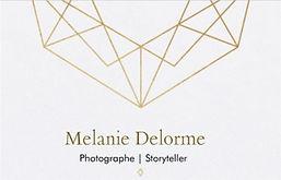Melanie Delorme photographe