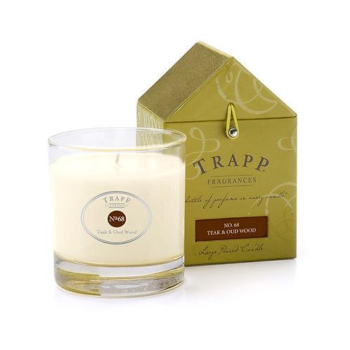 Teak & Oud Wood Trapp Candle 7oz.