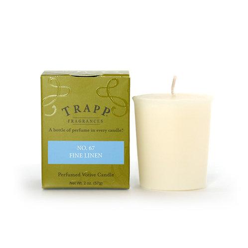 Fine Linen Trapp Candle Votive