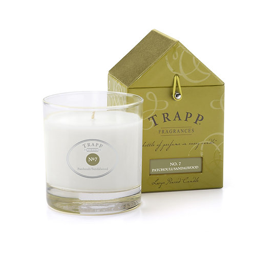 Patchouli/Sandalwood Trapp Candle 7oz.
