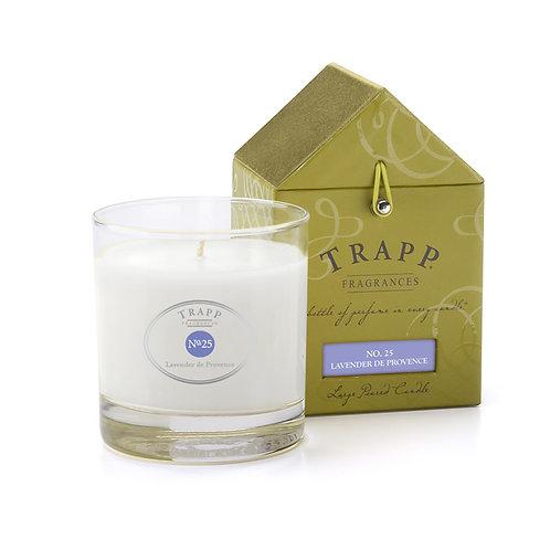 Lavender de Provence Trapp Candle 7oz.