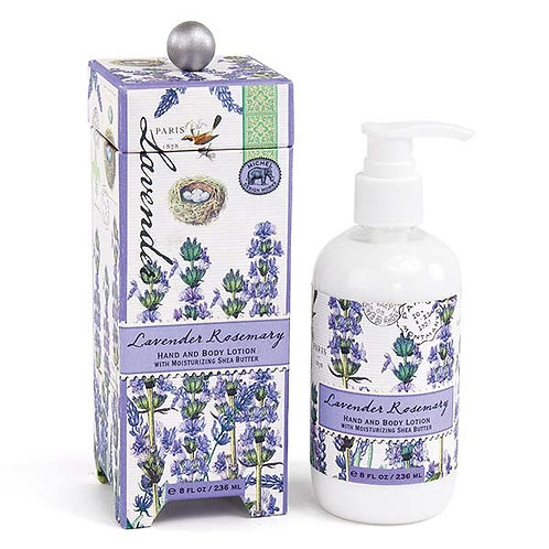 Lavender Rosemary Michel Design Works Hand & Body Lotion