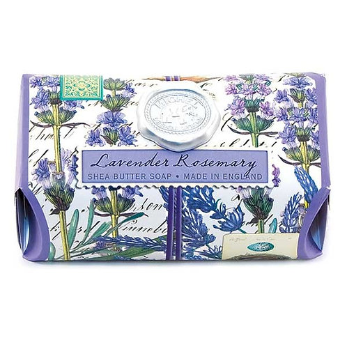 Lavender Rosemary Michel Design Works Bath Bar Soap