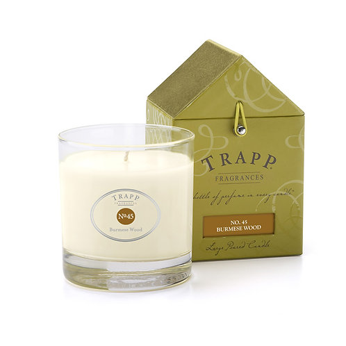 Burmese Wood Trapp Candle 7oz.
