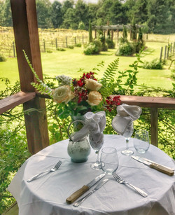 Dine by the Vineyard
