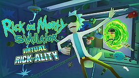 Rick and Morty VR Krypton VR Lounge