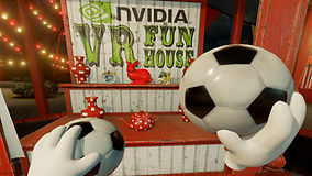 Nvidia VR Fun House Krypton VR Lounge