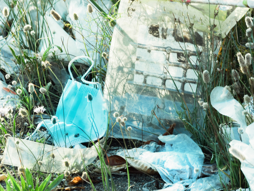 Rise in Covid-related Plastic Pollution: A way out