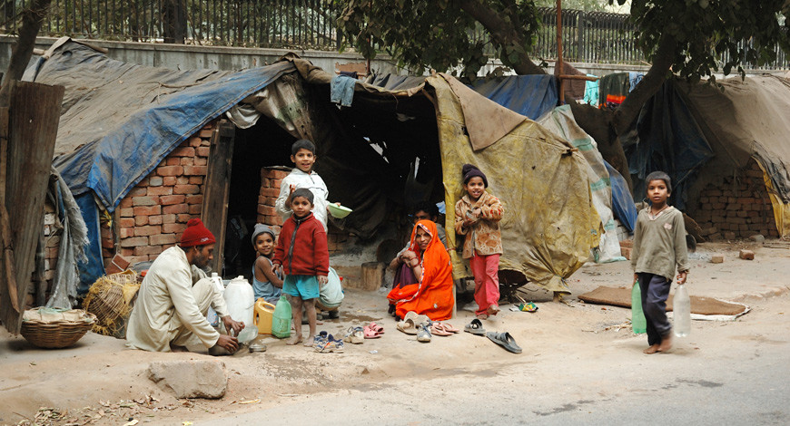 Removing poverty in India