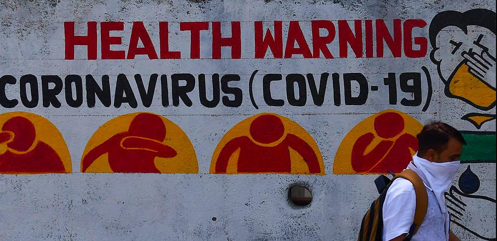 Health warning during COVID-19