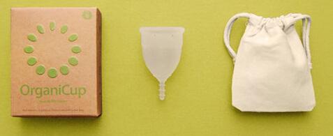 Organic menstrual cups