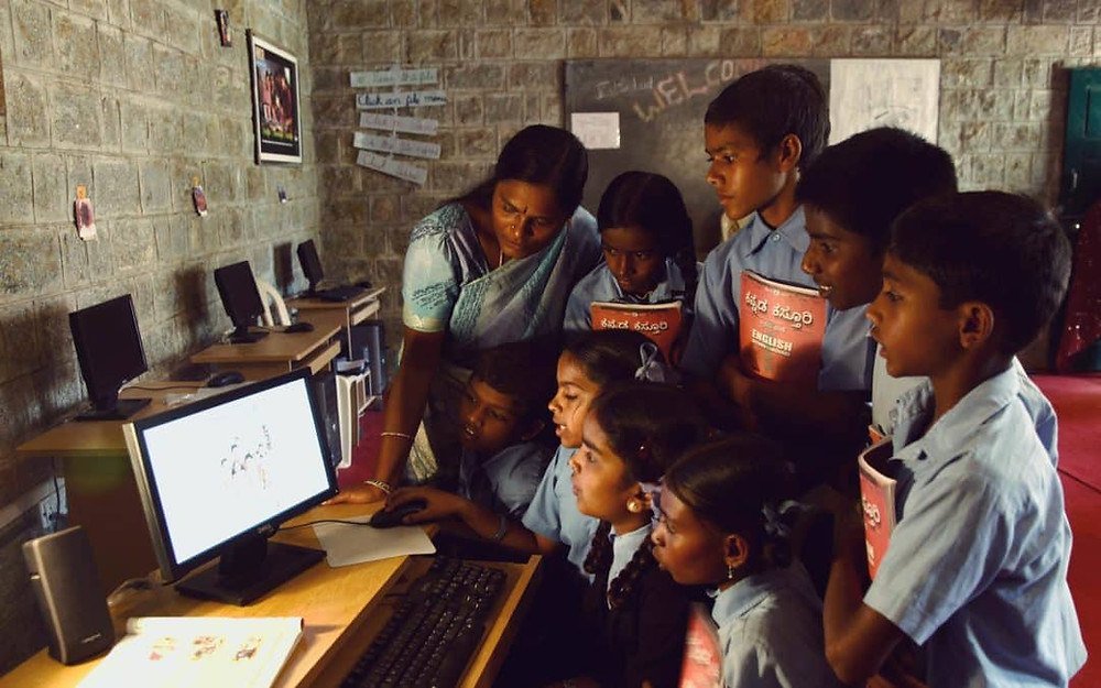 Digital literacy in villages
