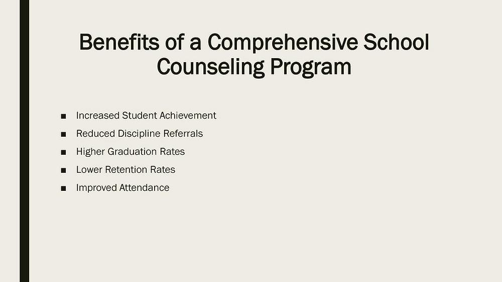 comprehensive school counselling program