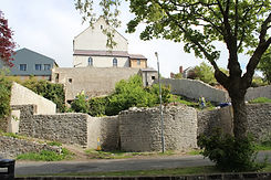 Town walls with lime kiln and butgage wa
