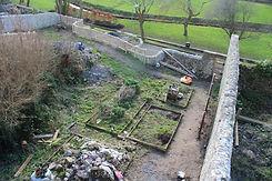 Burgage walls cleared of vegetation.jpg